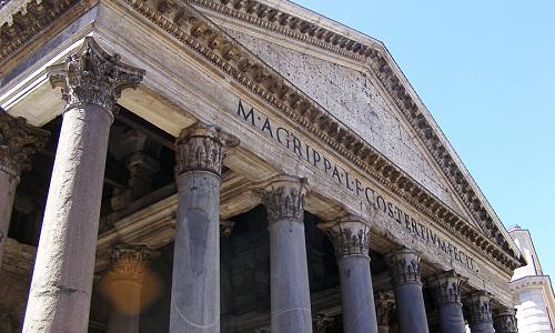 the pantheon   detail