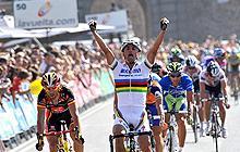Arrivo Mondiale Ciclismo