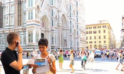 Italian Florence: Combo Tour Uffizi Gallery Audiopen Visit And Florence